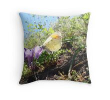 Tasting Beauty Throw Pillow