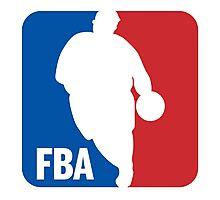FBA (Fat man Basketball Association) Photographic Print