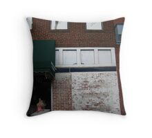 on Broad Street Throw Pillow