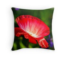 Now That's Red Throw Pillow