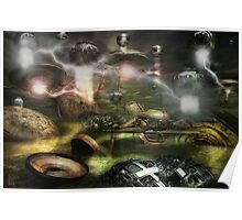 War Between The Worlds Poster