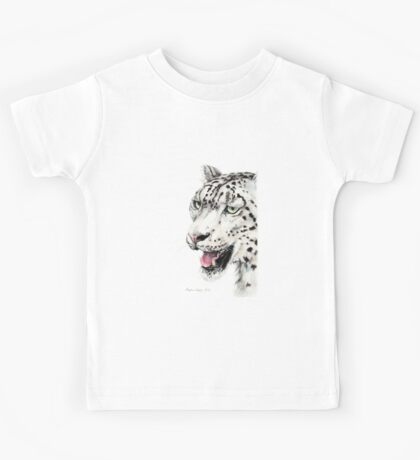 Snow Leopard Kids Tee