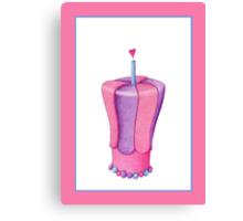 Pink Cake Canvas Print