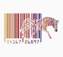 zebra  One Piece - Long Sleeve