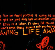 Swing Life Away by Lizzie Phillips