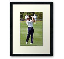 Nick Price Framed Print
