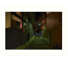 Silence In The City - Moods Of A City Art Print