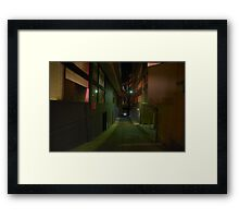 Silence In The City - Moods Of A City Framed Print