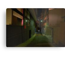Silence In The City - Moods Of A City Metal Print