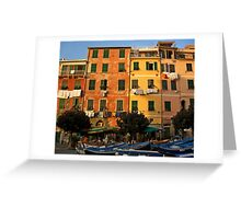 Colorful Vernazza Greeting Card