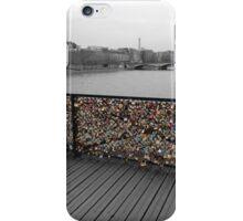 Paris love Padlocks iPhone Case/Skin