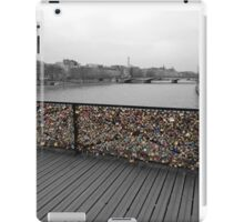 Paris love Padlocks iPad Case/Skin