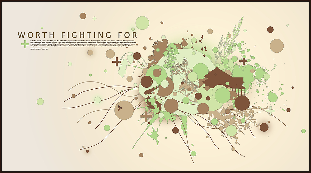 Worth Fighting For by DesignbySolo
