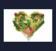 Heart of vegetables! SALE! Kids Tee
