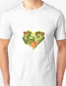 Heart of vegetables! SALE! T-Shirt