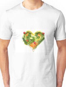 Heart of vegetables! SALE! Unisex T-Shirt