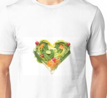 Heart of vegetables! SALE! Unisex T-Shirt