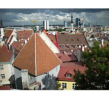 Old Tallinn LLD4 Photographic Print