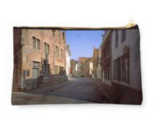 Street in Bruges 2002 Studio Pouch