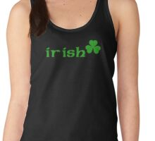 irish clover Women's Tank Top
