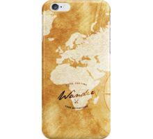 Wander the World  iPhone Case/Skin