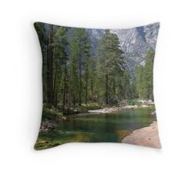 The Grand Canyon of the Tuolumne  Throw Pillow