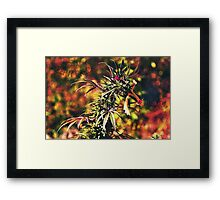 DoNT PaNiC iTS ORGaNiC Framed Print