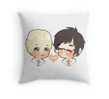 Chibi Drarry ^^ Throw Pillow
