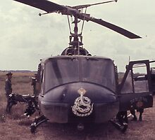 UH-1 helicopter, usa by chord0