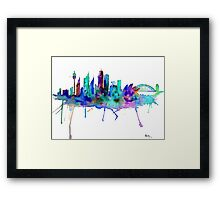 The Greatest City in the World Framed Print