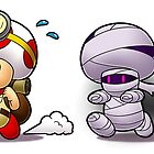 Captain Toad Mummy Chase by RedFlare