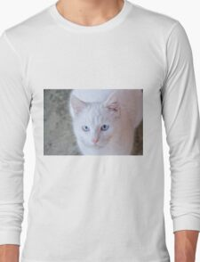 White cat Long Sleeve T-Shirt