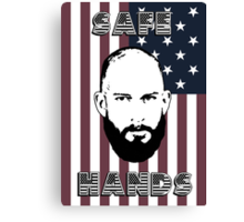 Tim Howard Safe Hands Flag Canvas Print