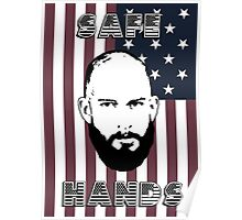 Tim Howard Safe Hands Flag Poster
