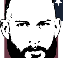 Tim Howard Safe Hands Flag Sticker