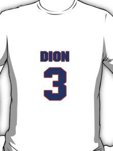 National Hockey player Dion Phaneuf jersey 3 T-Shirt