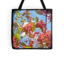 Berry Red Tote Bag