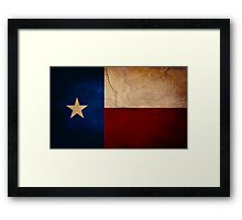 The Lone Star State Framed Print