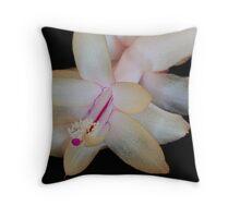 """""""Zygo Cactus Flower"""" Throw Pillow"""