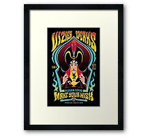 Vizier Speaks Framed Print