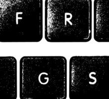 free hugs (keyboard) Sticker