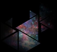 Galaxy Triangles by MrBrightsidee