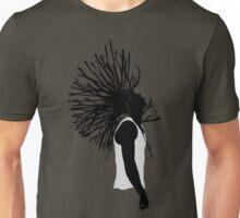 Dreaded Silhouette Full chest art Unisex T-Shirt