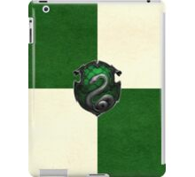 Slytherin Grunge iPad Case/Skin
