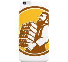 Saint Jerome Carrying Books Retro iPhone Case/Skin