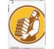 Saint Jerome Carrying Books Retro iPad Case/Skin