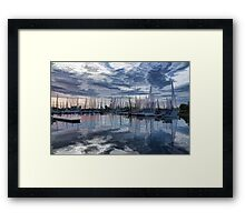 Sailboat Summer Impressions Framed Print