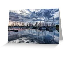 Sailboat Summer Impressions Greeting Card