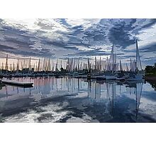 Sailboat Summer Impressions Photographic Print