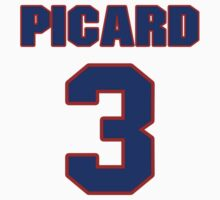 National Hockey player Robert Picard jersey 3 by imsport